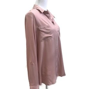 Zac & Rachel Tops - Zac & Rachel pink long sleeve blouse